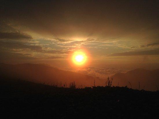 Ozurgeti, Georgia: sunset