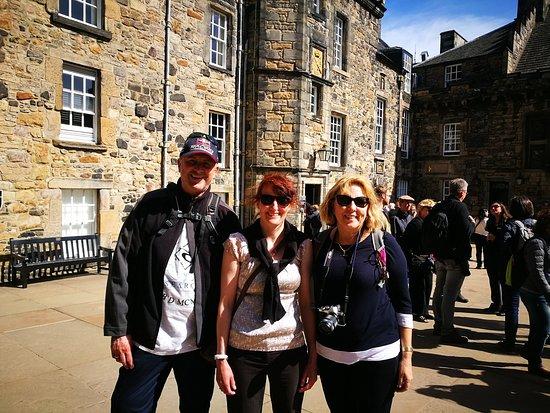 Helen's Edinburgh Welcome Tours: Still in the Castle!