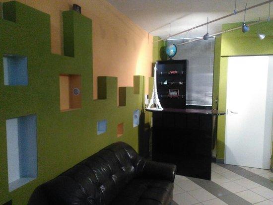 StuPeNy Hostel: Зона ресепшен