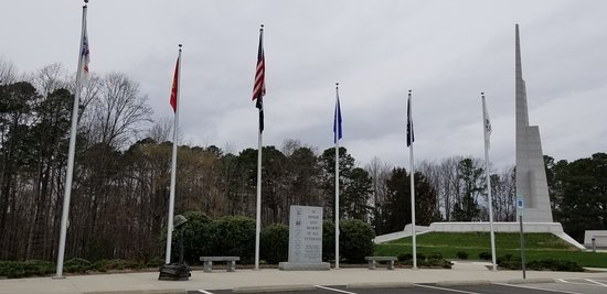 Cary, NC: Flags & Monuments