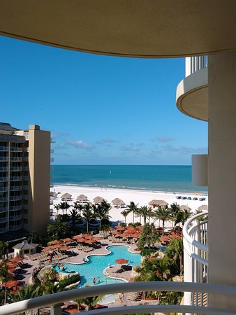 JW Marriott Marco Island Beach Resort : View from JW Marriott Marco Island Balcony