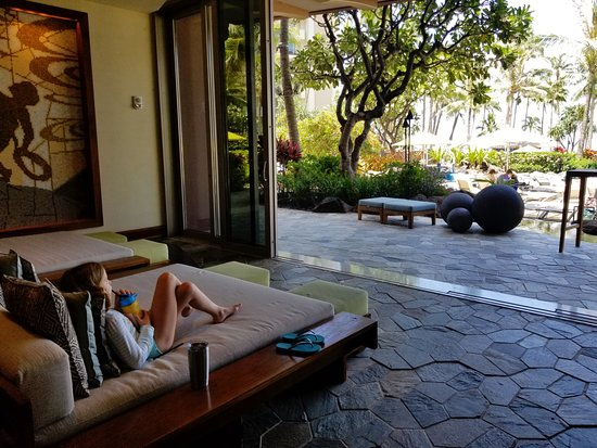 Hyatt Residence Club Maui, Ka'anapali Beach : Lobby couches