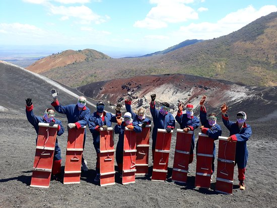 Trek Nicaragua Volcano Expeditions: Cerro Negro Volcano *Volcano Boarding*