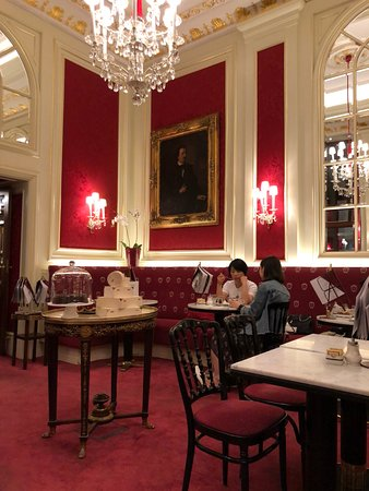 Cafe Sacher Wien: Our Sacher dining room