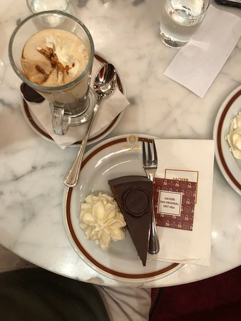 Cafe Sacher Wien: Torte and Sacher coffee