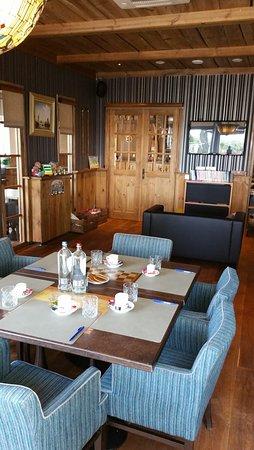 Brasserie De Biesbosch: Een gezellige privé ruimte waar je vergaderingen kan houden.