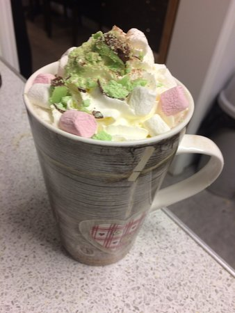 Mint Aero Hot Chocolate Picture Of The Coffee Pot