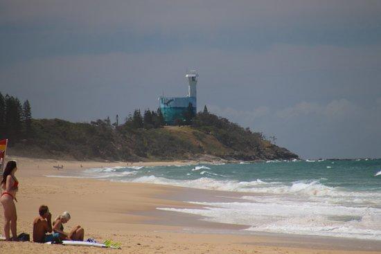 Kawana Beach: A lighthouse