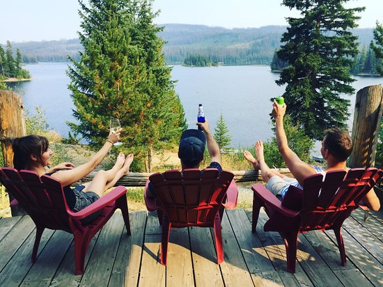 Oyama Lake Eco Lodge : Summer View