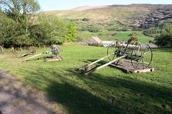 Molly Gallivan's Cottage & Traditional Farm: Farm equipment.