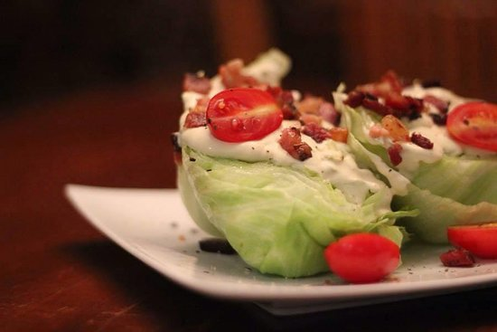 Habanero Grill: salada wedge