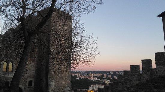 Castelo de Leiria : entardecer