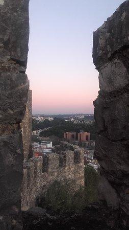 Castelo de Leiria : bela vista