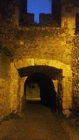 Castelo de Leiria : à noite no Castelo