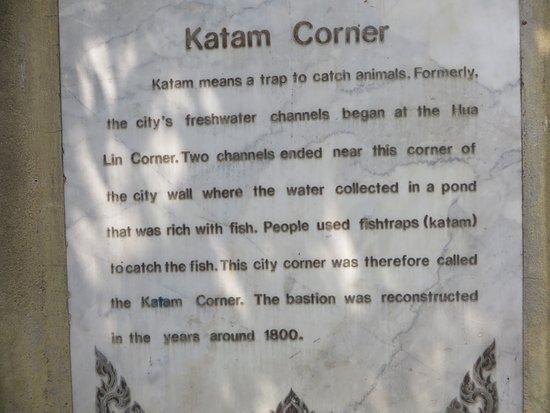Fort of Ka-Tham, 3説明板