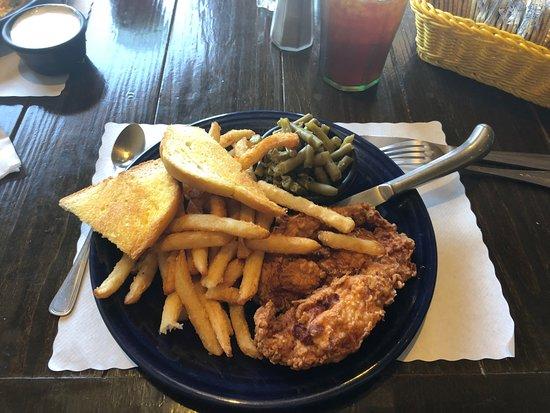 Welch, OK: Chicken Fried Chicken