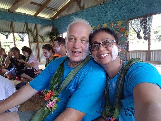 Sigatoka River Safari: Look at our smiles