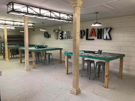 Teal Plank Workshop: Interior