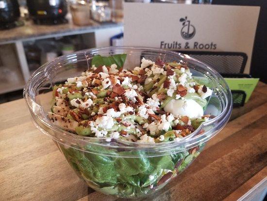 Fruits & Roots Juice Bar : F & R Cobb Salad