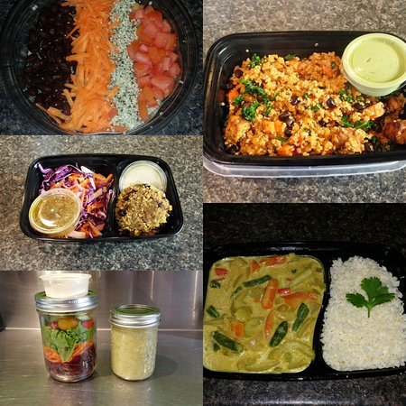 Fruits & Roots Juice Bar : Plant Based Meal Prep for those who don't have time to cook