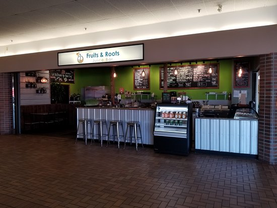 Fruits & Roots Juice Bar : Our New Location!! Inside the Town Centre Mall