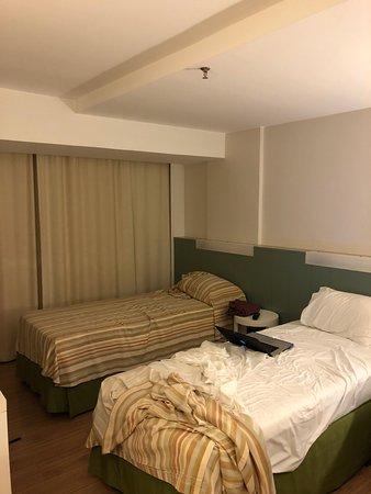 St Paul Plaza Hotel: quarto twin