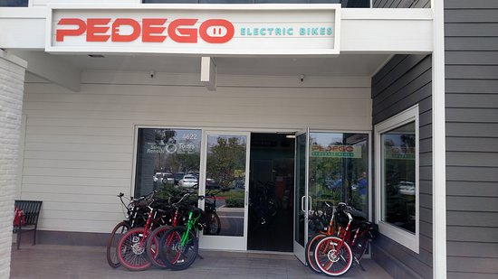 Pedego Irvine: Come by our awesome shop!