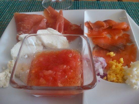 TRS Yucatan Hotel: Desayunos