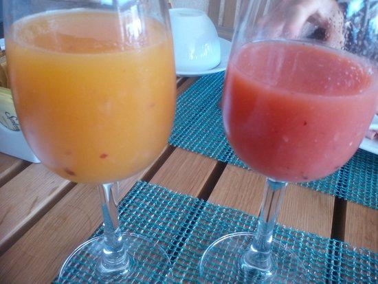 TRS Yucatan Hotel: Zumos NATURALES !!