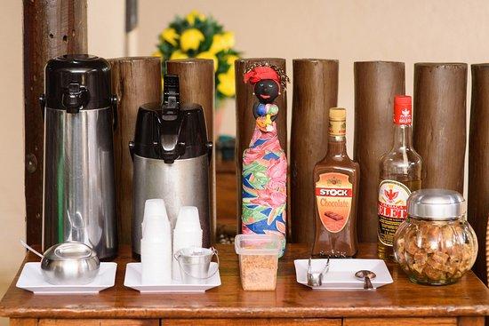 Terra Brasilis Restaurante: Nosso cafezinho com gostinho de volte sempre!  - Terra Brasilis