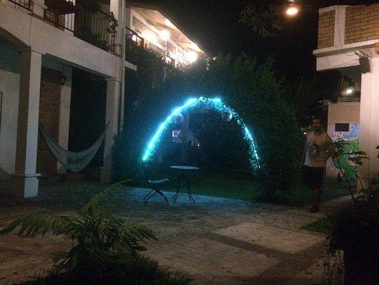 Foto de Jardin Cafe Hostel