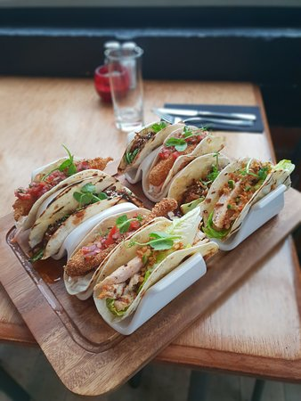 The Gintrap Restaurant & Bar: The Gintrap Taco Platter