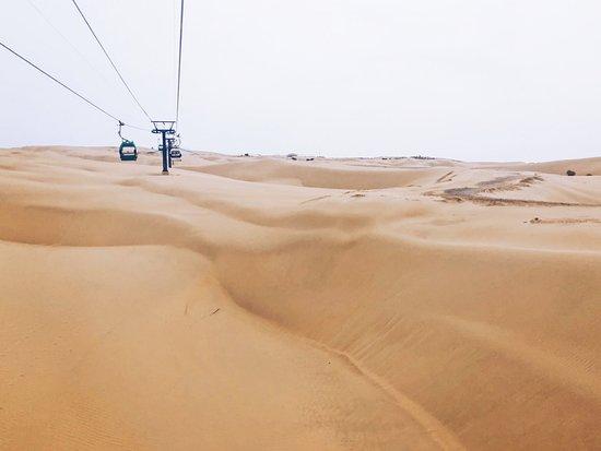 Whistling Dune Bay Tourist Scienc Spot : 美麗的沙漠風情