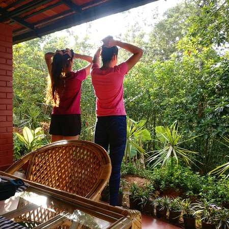 37, Malabar Road: Guests enjoying the view after their morning walk