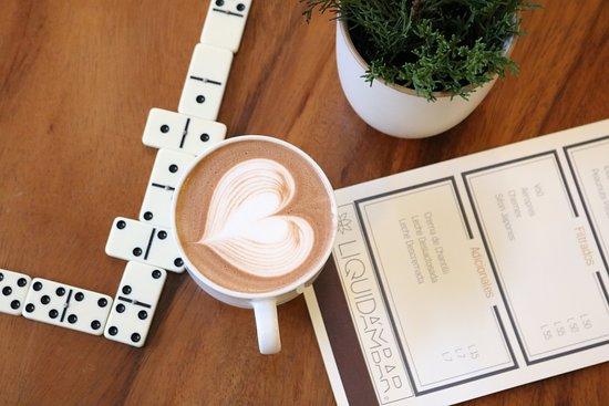 Santa Lucia, Honduras: Art latte.
