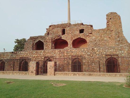 Feroz Shah Kotla Fort照片