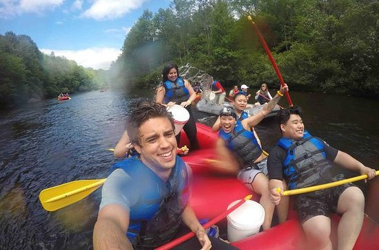 Whitewater Rafting Bus Trip from NYC