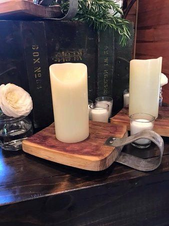 Wine Country Craft: Jack be nimble candle holder made with wine barrel Oak