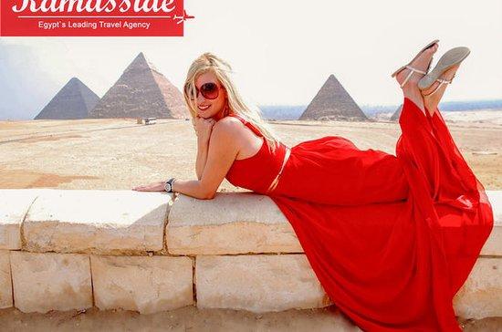 Pyramids of Giza & Solar boat