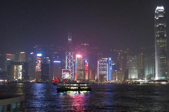 Hong Kong Night Junk Cruise with...