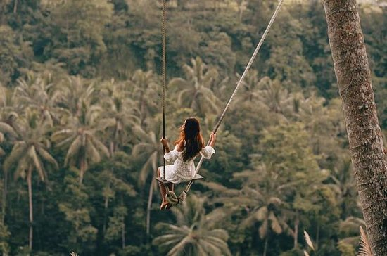 Ubud Jungle Swing with free Coffee...