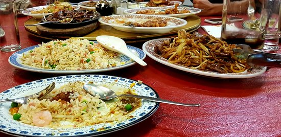 Toledo Three Plenties Palace Chinese Restaurant: Just an quick look of what we basically ordered.