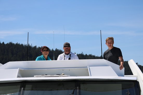 Puget Sound Express: All but one of our crew