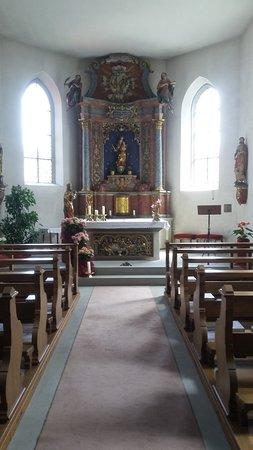 Unteruhldingen, Tyskland: St. Quirinus von innen