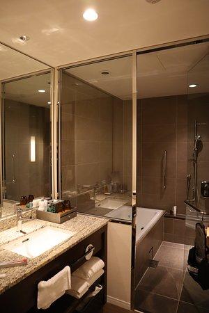 โรงแรม โอซาก้า แมริออท มิยาโกะ: Nice bathroom