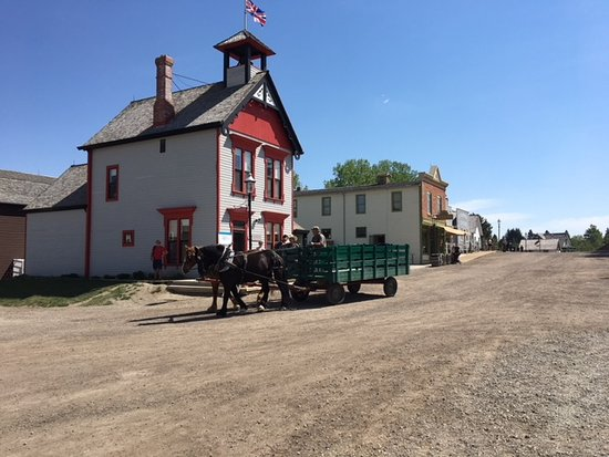 Heritage Park Historical Village: one of the buildings in the village