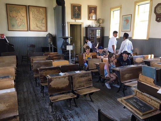 Heritage Park Historical Village: school