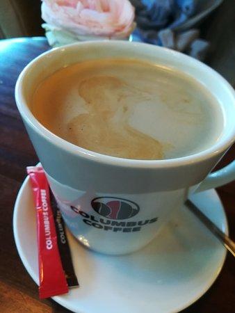 Columbus Coffee Oxygen : excellent café matinal