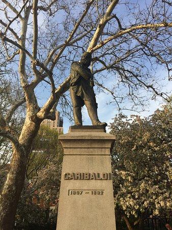 Washington Square Park - Garibaldi Statue