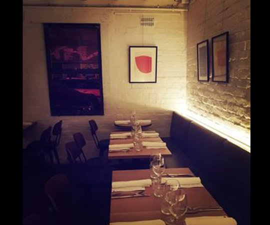 Bar Rosamond: Our dining room